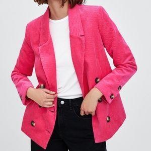 Zara corduroy blazer